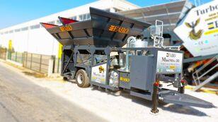uudet FABO MINIMIX-30 MOBILE CONCRETE PLANT 30 M3/H READY IN STOCK  betoniasema