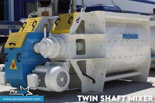 uudet PROMAX 2 m3 /3 m3 TWIN SHAFT MIXER betoniasema