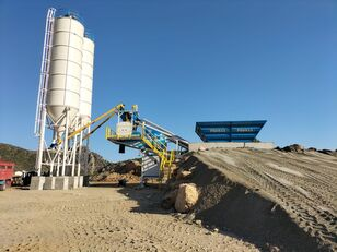 uudet PROMAX Mobile Concrete Batching Plant M60-SNG  betoniasema