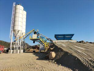 uudet PROMAX Mobile Concrete Batching Plant M60-SNG (60m3/h) betoniasema