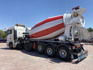 uudet ALIM mixer semi trailer concrete mixer semi-trailer betonisekoitin puoliperävaunu