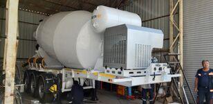 uudet EXPOTRAILER 12 M3 betonisekoitin puoliperävaunu
