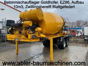 GOLDHOFER betonisekoitin puoliperävaunu