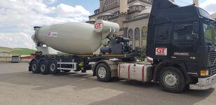 uudet GURLESENYIL betonisekoitin puoliperävaunu