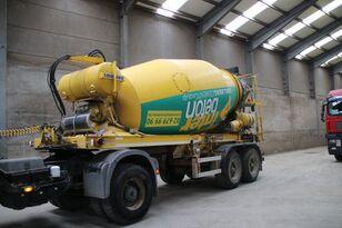 LIEBHERR BETON MIXER HTM 1004 ZA - 10 M³ betonisekoitin puoliperävaunu
