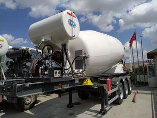 uudet NTM 2021 betonisekoitin puoliperävaunu