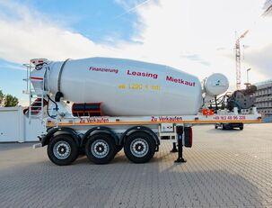 SCHWARZMÜLLER TTC-Fulda Betonmischer Auflieger mit Motor  NEU betonisekoitin puoliperävaunu
