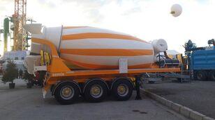 uudet SEMIX betonisekoitin puoliperävaunu