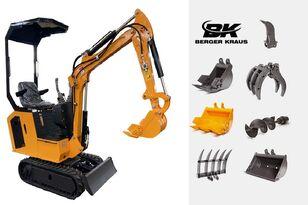 uudet BERGER KRAUS Mini Excavator BK800BS torsion arm with FULL equipment minikaivinkone