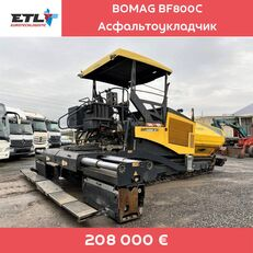 BOMAG BF800C tela-alustainen asfalttikone
