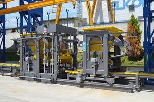 uudet ELKON ELKOBLOCK-36S FULLY AUTOMATIC SINGLE LAYER Concrete Block Machin tiili tehdä kone