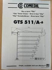 COMEDIL GTS 511 torninosturi