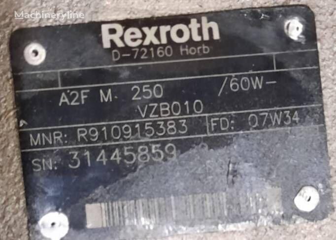 uudet kaivuri Rexroth A A2F M 250 /60W-VZB010 hydraulimoottori
