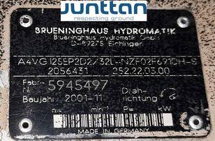 kaivuri Rexroth A4VG125EP2D2 (R902056431) hydraulipumppu