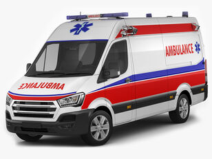 uudet HYUNDAI H 350 ambulanssi
